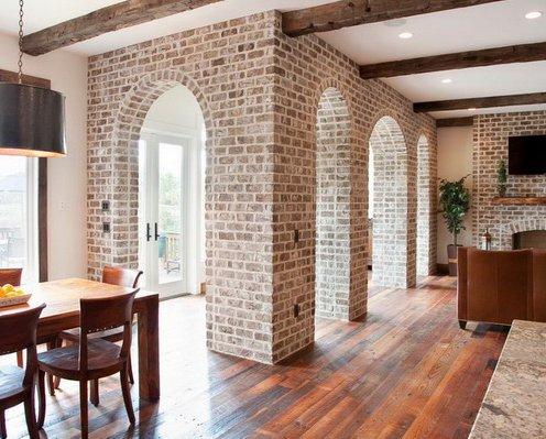 Внутренняя отделка стен под